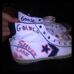 Converse Shoes - Converse all star x John varvatos x Golden Goose x